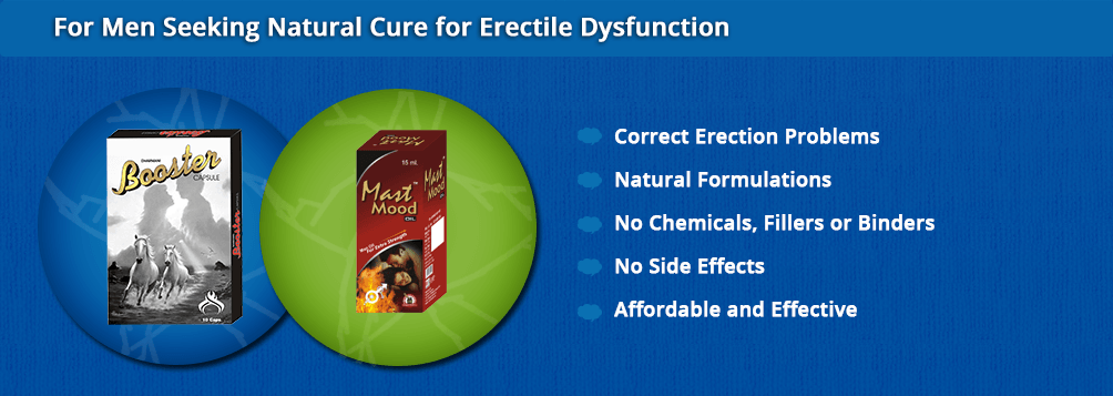 Natural Cure for Erectile Dysfunction