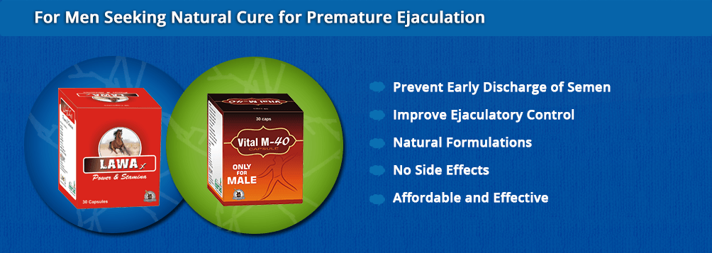 Natural Cure for Excessive Premature Ejaculation